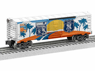 Brand New Lionel O 2016 MLB New York Yankees Spring Training boxcar # 6-83768