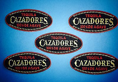 5 Lot Cazadores 100% Agave Tequila Alcohol Hat Jacket Hoodie Workshirt Patches