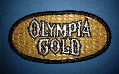 Olympia Gold Oly Beer Sew On Employee Uniform Iron On Jacket Hat Patch Crest