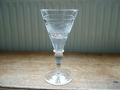 Quality Early Cumbria Cut Crystal Grasmere Large Wine Glass