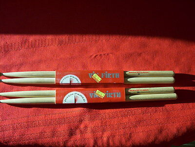 (02) Vic Firth  F1 wood tiptip
