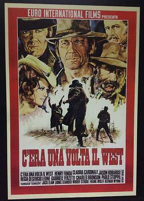C'era Una Volta Il West poster film  70x100