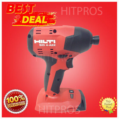Hilti Sid 4-A22 Cordless Impact Drill Driver, New Model, Bare Tool, Fast Ship
