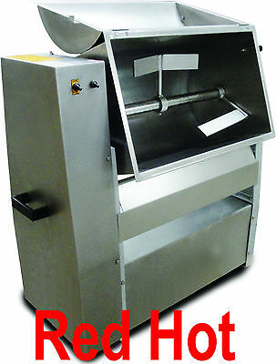 Omcan 13153 Stainless Steel Tilting Electric Meat Mixer 1/2 Hp 100 Lb  MMS501