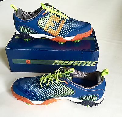 New in box FootJoy Freestyle Mens Golf Shoes 57332 Size 11.5 Retail $190