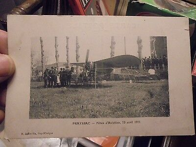 PRAYSSAC Fêtes de l'Aviation 12 Avril 1911 R Joffre : Ancien Avion Pionnier