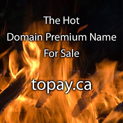 topay.ca The Best Domain Name for Mobile Payments Internet Sales Marketing Sale