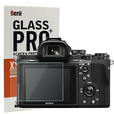 Rerii Tempered Glass Screen Protector for Sony A7R II & A7S II & A7 II & A7 M...