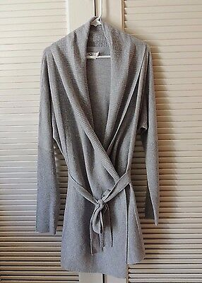 a50548f231 UGG WOMENS CHEYENNE 100% Cashmere Sweater Wrap  Robe