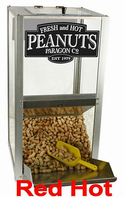 """New Paragon 15"""" Peanut  Warmer Merchandiser with Scoop Free Shipping 2190210"""