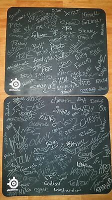 CSGO SIGNED MOUSEPAD | 115+ PRO SIGNATURES | Counter Strike Global Offensive