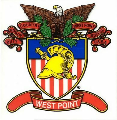 West Point Crest Decal