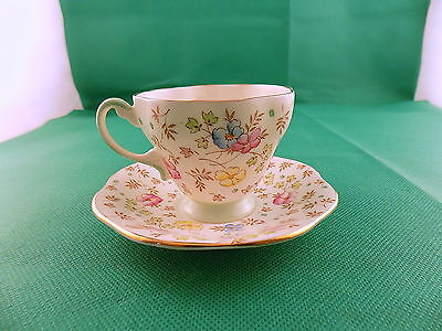 Foley China Demitasse Cup & Saucer