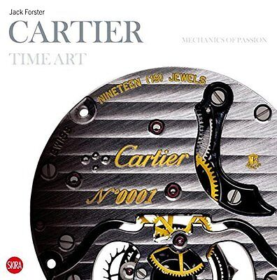 Cartier Time Art by Jack Forster Hardback Book New