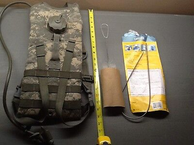 US Military Molle II 100oz Hydration Carrier Backpack w/ Bladder - Hiking Used
