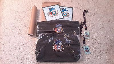 The Who Hits 50 North American Tour 2015-16 (Book>Duffel>Poster>Lanyard)