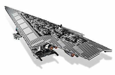 Imperial Super Star Destroyer LEGO Compatible Star Wars 10221 (In Sealed Box)