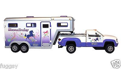 BREYER  NEW  Horse Crazy Truck and Trailer Stablemates 1:32 Scale 5369