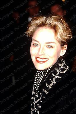vintage celebrity 35mm Slide -  sharon stone  *fx6