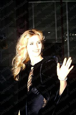 vintage celebrity 35mm Slide -  claudia schiffer   *fv15