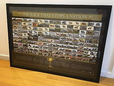 Melbourne Cup Limited Edition Memorabilia Frame - The Race That Stops A Nation