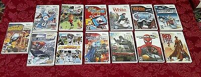 13 Pc Lot Wii Nintendo Video Game Destroy All Humans Madden NFL Shaun White ✞