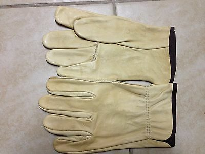 Wells Lamont Unlined Cowhide Full Leather Driver Glove - Large