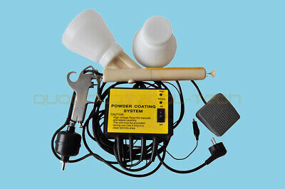 Original Portable Electrostatic Powder Coating system PC02 Paint  gun Machine CE