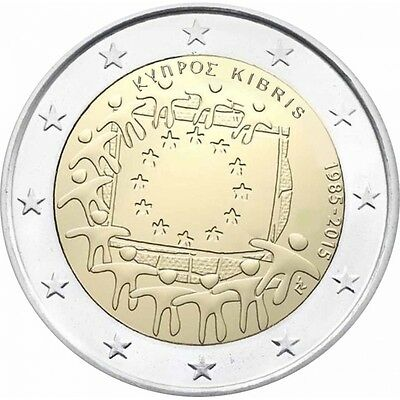 2 euro commémorative 2015 Chypre - Zypern - Kibris * 30th Anniv.  NEW !