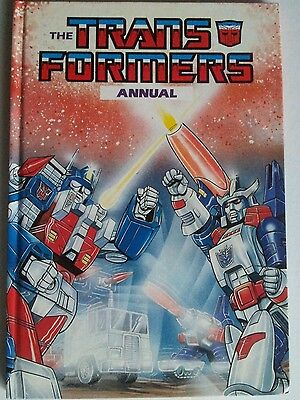 Transformers annual vintage 1980s