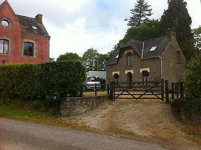 Brittany property large 4 bed house and 2 bed cottage