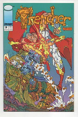THE TRENCHER # 3, Image 1993, Zustand 0-1/1- (vf+/vf-), Griffin