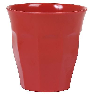 RICE Melamine Medium Cup - Red - Combined Postage!