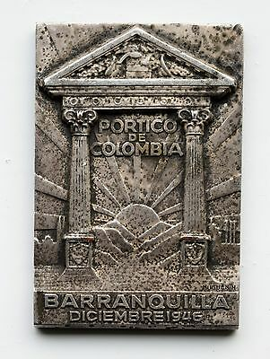 Colombia: Central American and Caribbean Games, Barranquilla 1946, by Huguenin.
