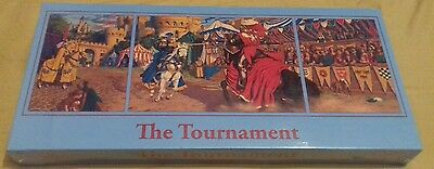 The Tournament Jigsaw 1 x 1000 + 2 x 500 Pieces Medieval Puzzle Brand New Siled