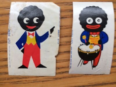 Robertson's Golden Shred Gollywog Cut Out Stickers