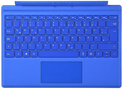 Microsoft Surface Pro 4 Type Cover Keyboard for MS Surface Pro 4 & Pro 3 - Blue
