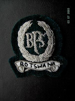 South Africa. Botswana Prison Service.officers Cap Badge.