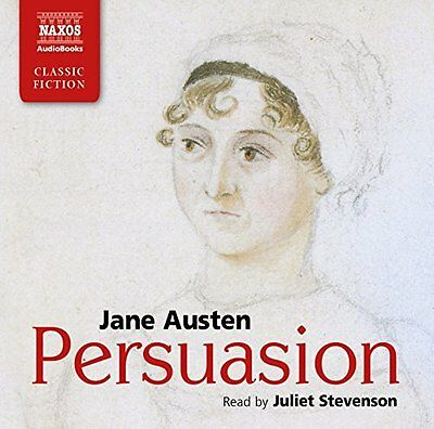 Book : Persuasion by Austen  Jane CD-Audio New
