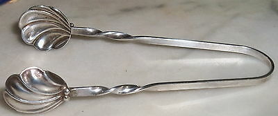 Vintage Sterling Silver Sugar Tongs