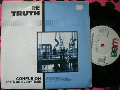 Punk / Mod - The Truth - Confusion - Picture Cover