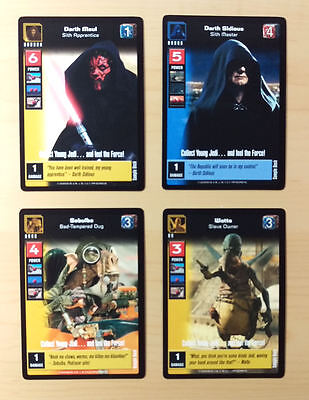 **promo Cards** Young Jedi Sample Deck, Decipher (1999)