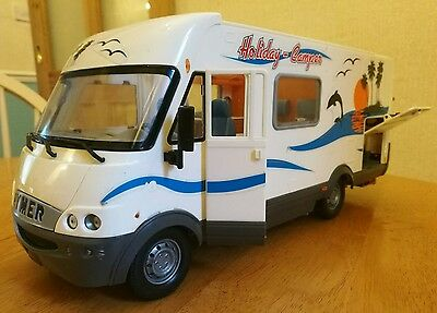 Dickie Spielzeug Holiday Camper Van Toy - Very Rare - 1:18 Scale