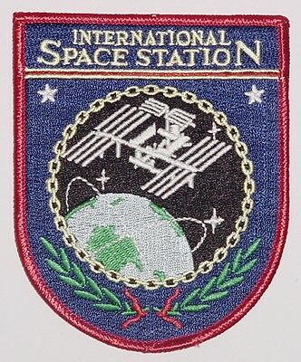 Aufnäher Patch Raumfahrt ISS International Space Station ............A3002