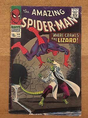 AMAZING SPIDER-MAN #44 2nd Lizard Marvel Comics 1967