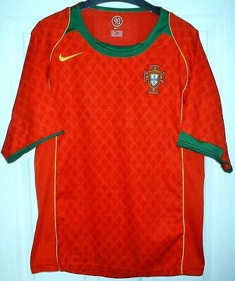 Nike - Vintage Portugal National Home Football/Soccer Shirt/Jersey - Adult - S