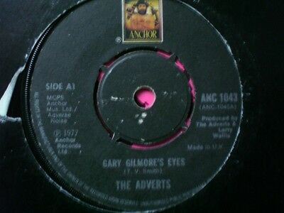 Punk - The Adverts - Gary Gilmores Eyes