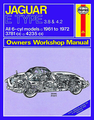 Jaguar E-Type Owners Workshop Manual 1961 to 1972 *NEW