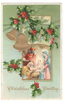 Vintage Post Card Used Canada Christmas 1911