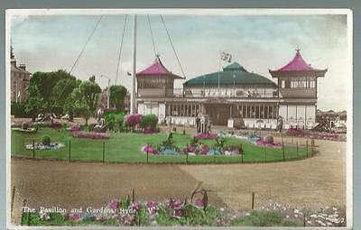 Old Postcard   Nigh  The Pavilion & Gardens  Ryde   I Of W   1952   Not Posted